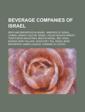 Beverage Companies Of Israel