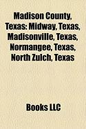 Madison County, Texas: Midway, Texas, Madisonville, Texas, Normangee, Texas, North Zulch, Texas