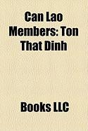 Can Lao Members: Ton That Dinh