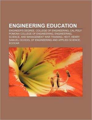 Engineering education: Engineer's degree, College of Engineering, Cal Poly Pomona College of Engineering, Engineering, Science