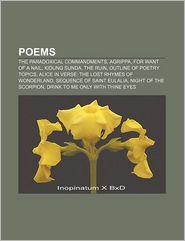 Poems - Books Llc