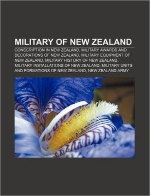 Military Of New Zealand