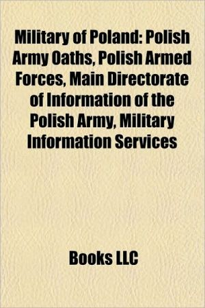 Military of Poland: Military awards and decorations of Poland, Military equipment of Poland, Military facilities of the United States in Poland