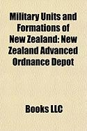 Military Units and Formations of New Zealand: New Zealand Advanced Ordnance Depot