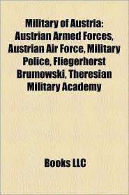 Military Of Austria - Books Llc