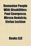 Romanian People with Disabilities: Paul Georgescu