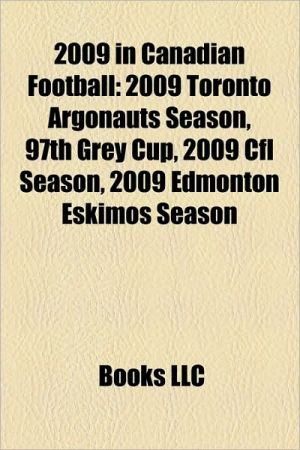 2009 In Canadian Football
