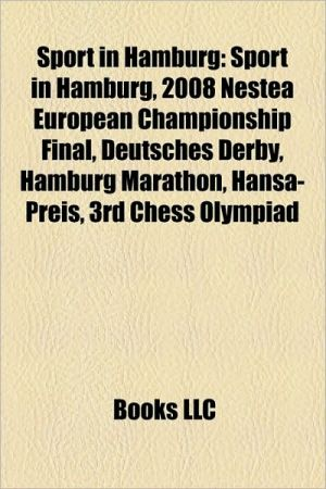Sport in Hamburg: Betty Barclay Cup, Hamburg Freezers, Hamburg Masters, Hamburg Sea Devils, Hamburg football clubs