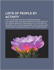 Lists Of People By Activity - Books Llc