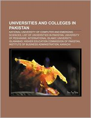 Universities And Colleges In Pakistan - Books Llc