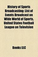 History of Sports Broadcasting: List of Events Broadcast on Wide World of Sports