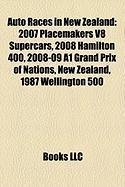 Auto Races in New Zealand: 2007 Placemakers V8 Supercars