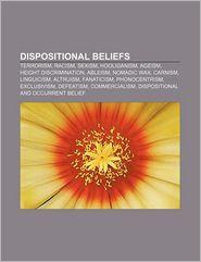 Dispositional Beliefs - Books Llc