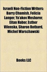 Israeli Non-Fiction Writers - Books Llc