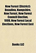 New Forest (District): Beaulieu, Hampshire, New Forest, New Forest Council Election, 1999, New Forest Local Elections, New Forest East