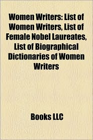 Women Writers - Books Llc