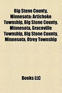 Big Stone County, Minnesota: Artichoke Township, Big Stone County, Minnesota, Graceville Township, Big Stone County, Minnesota, Otrey Township