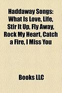Haddaway Songs: What Is Love, Life, Stir It Up, Fly Away, Rock My Heart, Catch a Fire, I Miss You