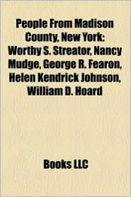 People From Madison County, New York - Books Llc