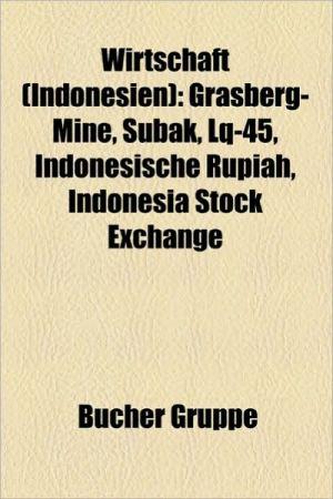 Wirtschaft (Indonesien) - B Cher Gruppe (Editor)