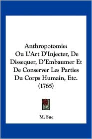 Anthropotomie - M. Sue