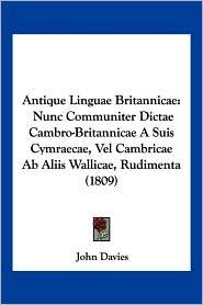Antique Linguae Britannicae - John Davies