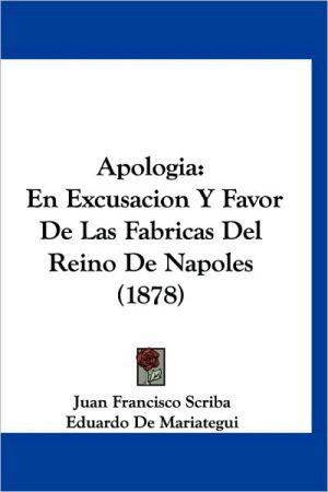 Apologia - Juan Francisco Scriba, Eduardo De Mariategui