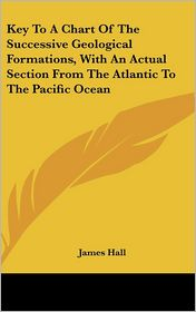 Key to a Chart of the Successive Geological Formations, with an Actual Section from the Atlantic to the Pacific Ocean - James Hall
