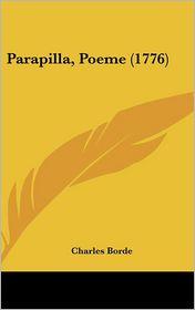 Parapilla, Poeme (1776) - Charles Borde