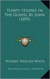 Thirty Studies in the Gospel by John (1895) - Wilbert Webster White