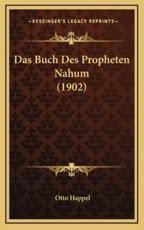 Das Buch Des Propheten Nahum (1902) - Otto Happel