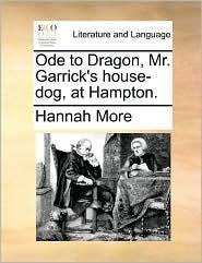 Ode to Dragon, Mr. Garrick's house-dog, at Hampton.