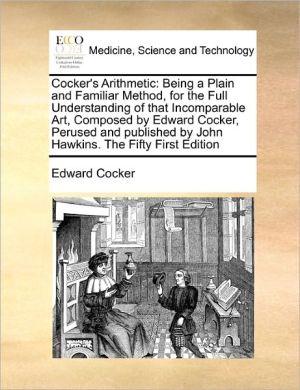 Cocker's Arithmetic - Edward Cocker