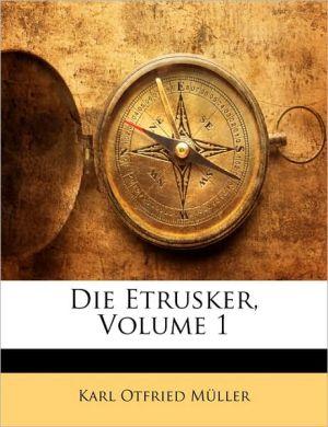 Die Etrusker, Volume 1
