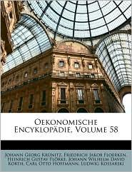 Oekonomische Encyklopdie, Volume 58 - Johann Georg Krunitz, Friedrich Jakob Floerken, Heinrich Gustav Flrke