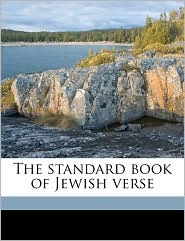 The standard book of Jewish verse - George Alexander Kohut