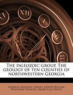 The Paleozoic Group. the Geology of Ten Counties of Northwestern Georgia