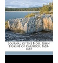 Journal of the Hon. John Erskine of Carnock, 1683-1687 - John Erskine