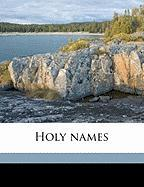 Holy Names