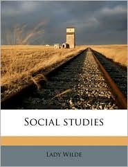 Social studies - Lady Wilde