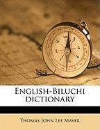 English-Biluchi Dictionary