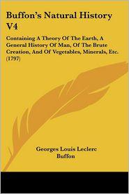 Buffon's Natural History V4 - Georges-Louis Leclerc de Buffon