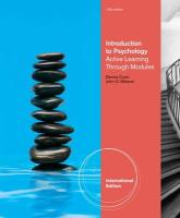Introduction to Psychology: Active Learning Through Modules.