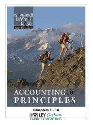 Accounting Principles 10th Edition Chapters 1-18 for MATC - Jerry J. Weygandt