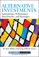 Alternative Investments - H. Kent Baker; Greg Filbeck