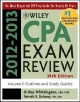 Wiley CPA Examination Review, Volume 1, Outlines and Study Guides 2012-2013 - Patrick R. Delaney; O. Ray Whittington
