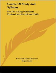Course Of Study And Syllabus - New York State Education Department