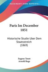 Paris Im December 1851 - Eugene Tenot