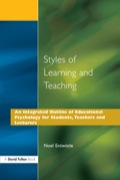 Styles of Learning and Teaching - Noel J. Entwistle