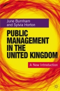 Public Management in the United Kingdom - June Burnham